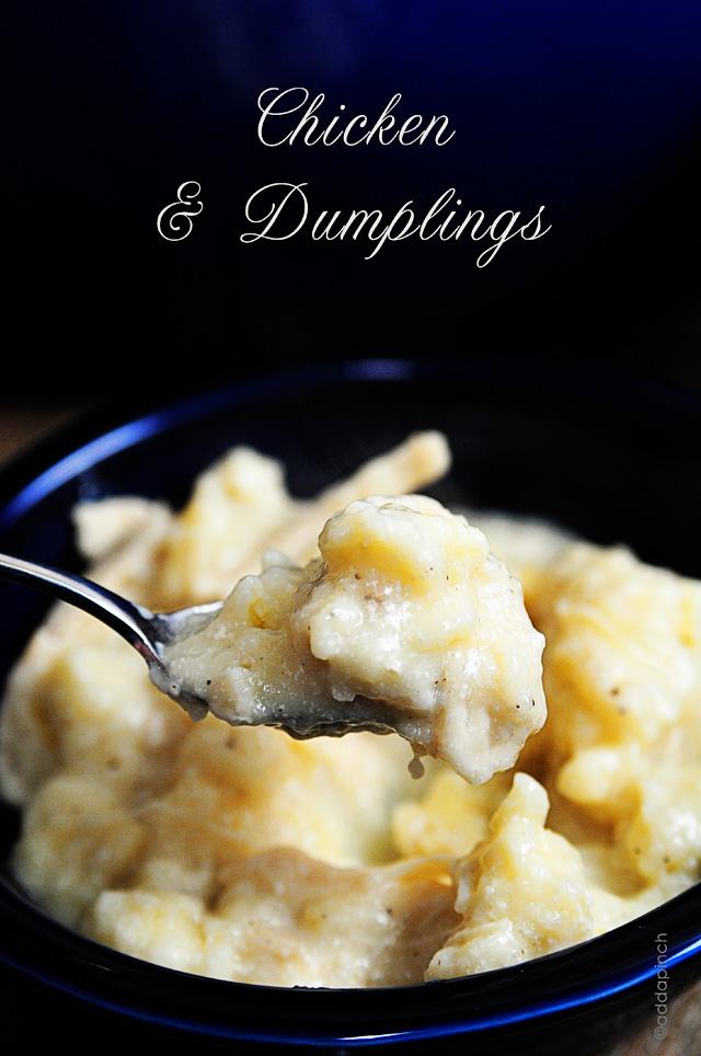 Chicken And Dumplings Add A Pinch