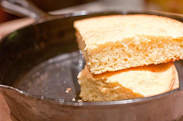 Southern Buttermilk Cornbread Recipe | ©addapinch.com