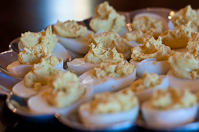 Deviled Eggs | ©addapinch.com