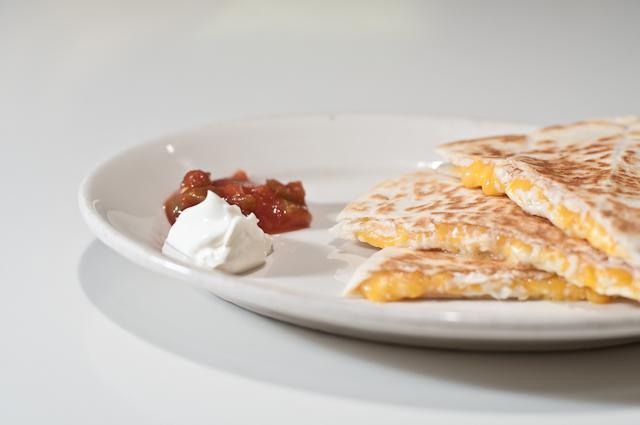 Classic Cheese Quesadillas - Add a Pinch