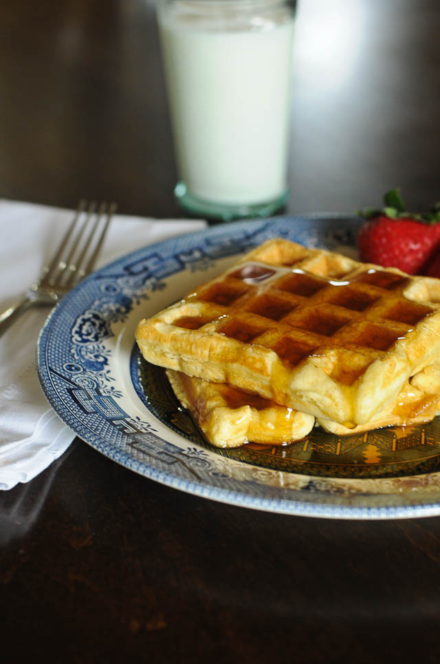 buttermilk waffles recipe for a crowd add a pinch