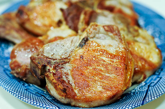 Skillet Pork Chop Recipe Cooking Add A Pinch Robyn Stone