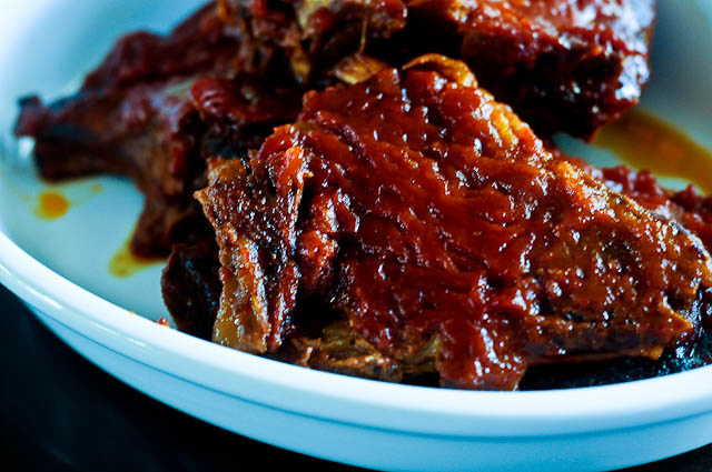 BBQ Pork Chops | addapinch.com