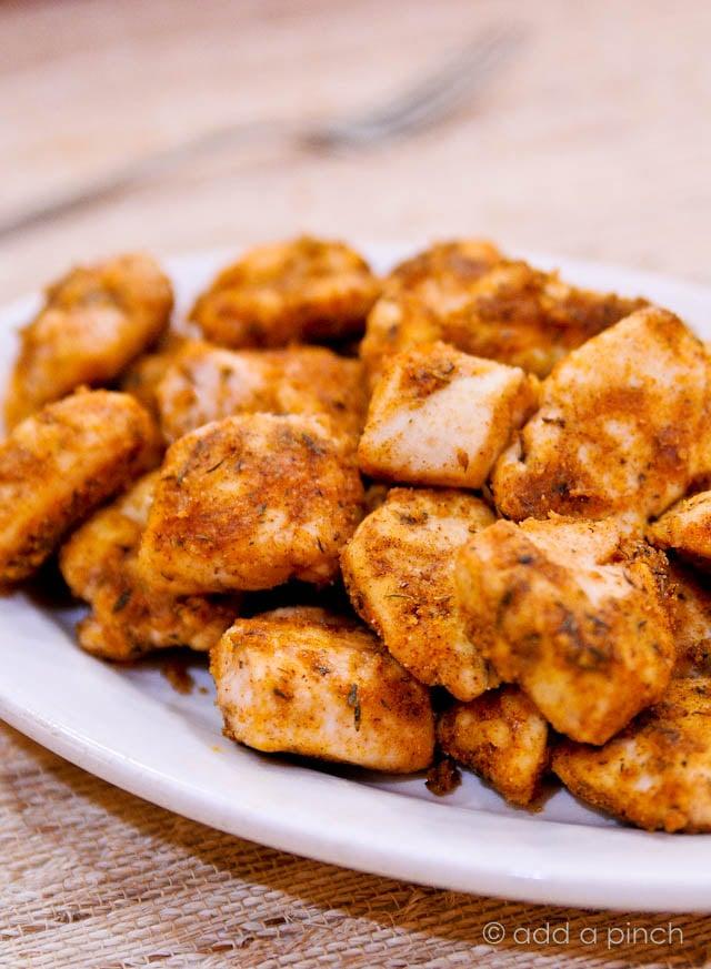 Simple Chicken Nuggets Recipe - Add a Pinch