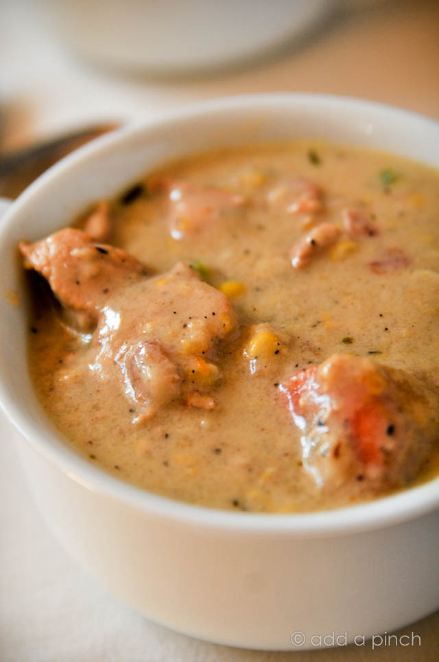 Southern Chicken and Corn Chowder Recipe