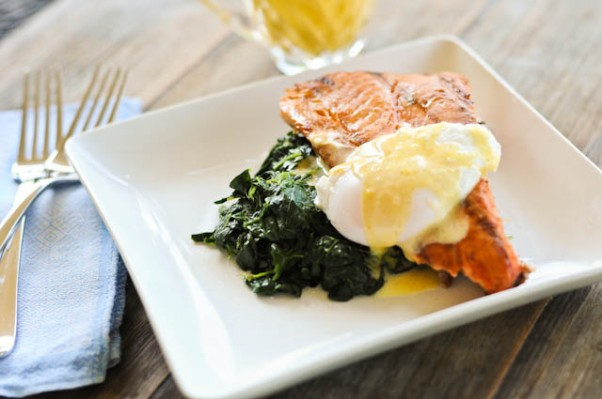 Salmon Eggs Benedict | ©addapinch.com