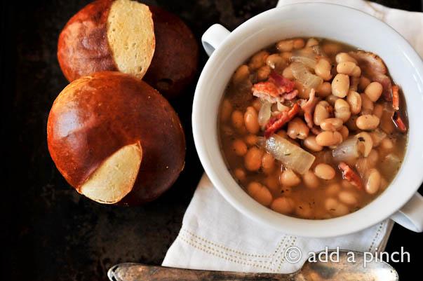 Bean Soup | ©addapinch.com