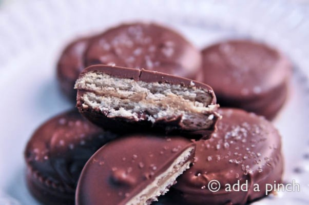 Chocolate Covered Peanut Butter Honey Crackers