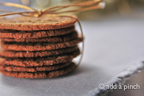 Chewy Ginger Molasses Cookies Recipe Add A Pinch