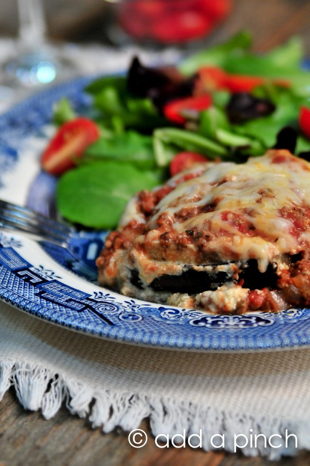 Eggplant Lasagna Recipe | Add a Pinch