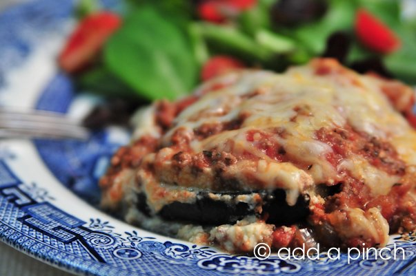 Easy Eggplant Lasagna Recipe Add A Pinch