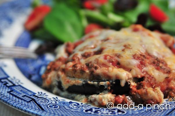 Easy Eggplant Lasagna Recipe - Add a Pinch
