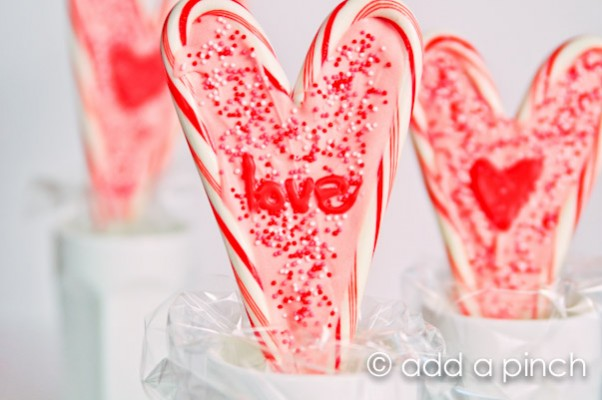 Valentine's Hearts Lollipops | Add a Pinch