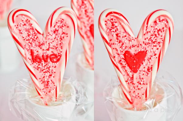 Valentine's Hearts Lollipops   Add a Pinch