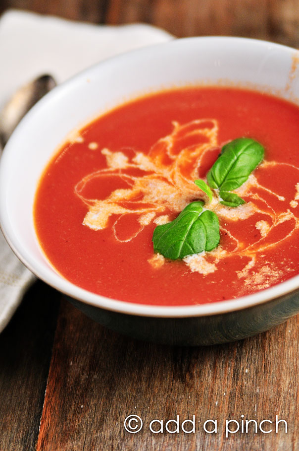 Tomato Soup Recipe | Add a Pinch