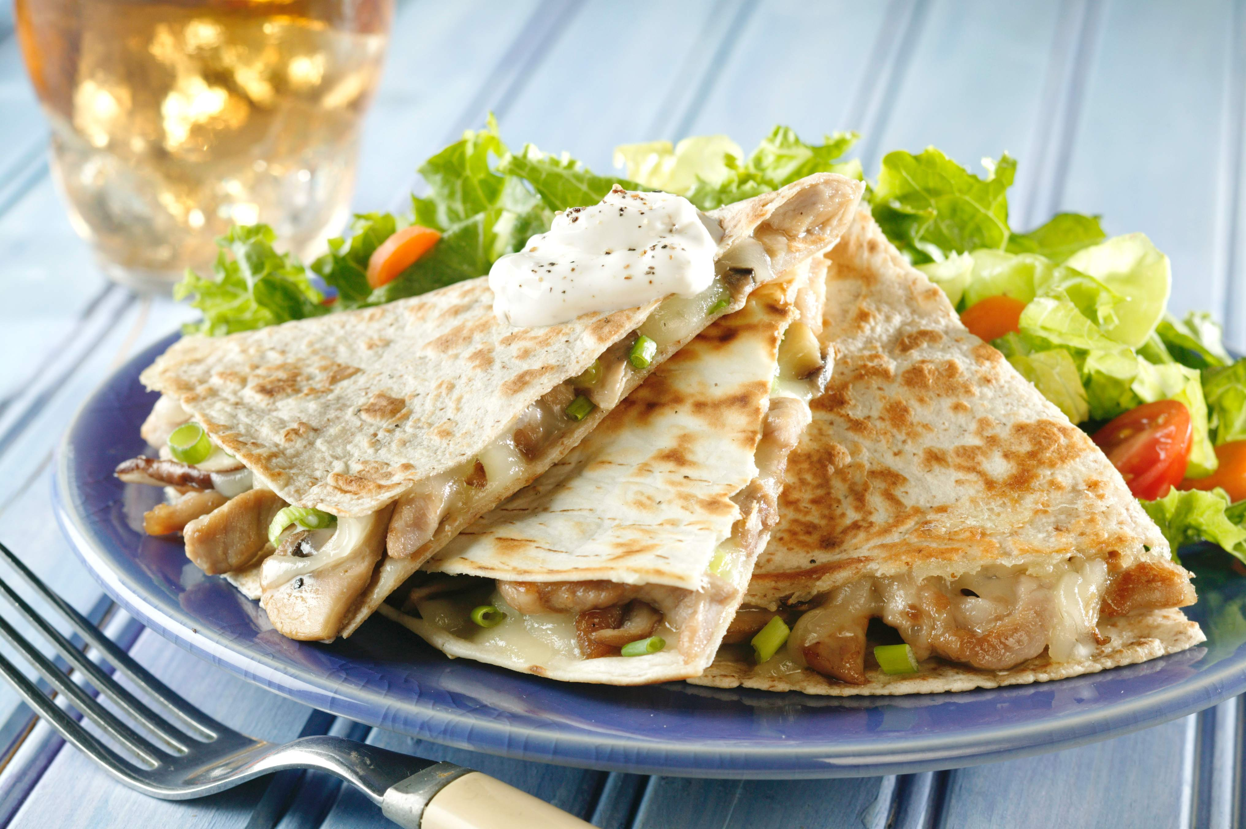 Pork and Pepper Quesadillas Pork and Pepper Quesadillas new images