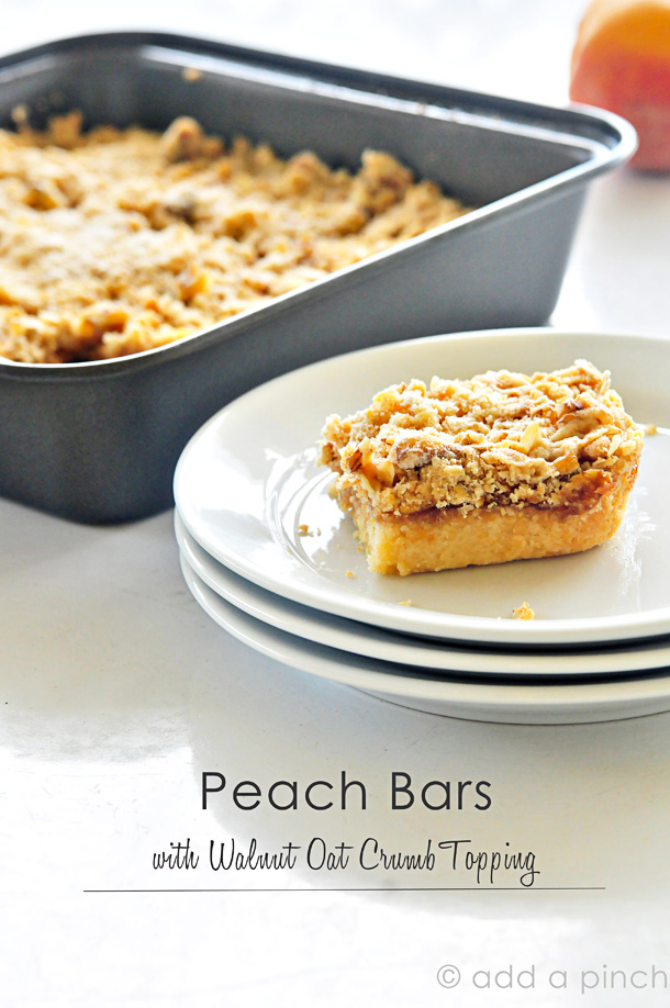 Peach Bars | Add a Pinch