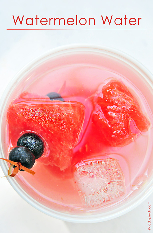 Watermelon Water | Add a Pinch