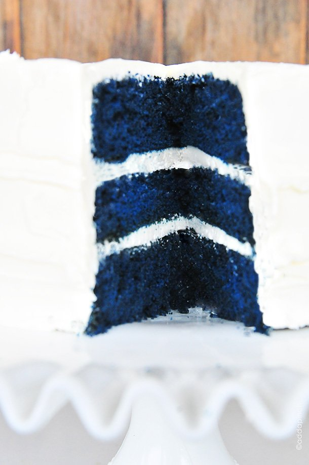 Red White And Blue Velvet Cake Recipe
