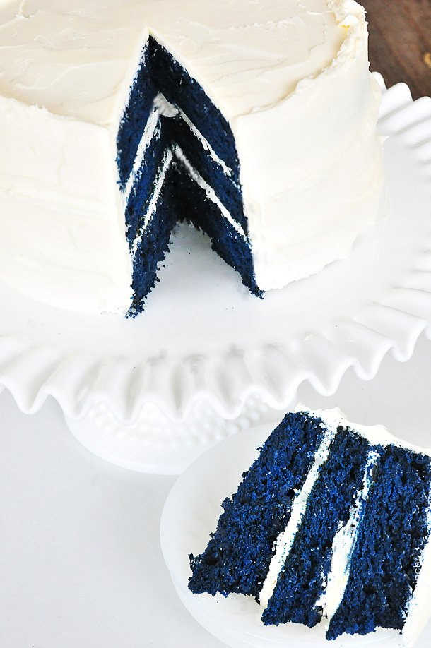 Blue Velvet Cake From Scratch