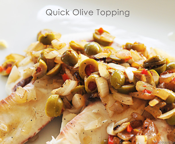 Olive Topping | Add a Pinch.com