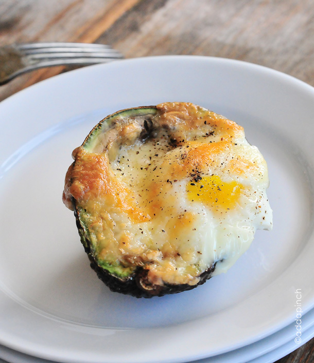 Baked Egg Avocado Cup Recipe - Add a Pinch