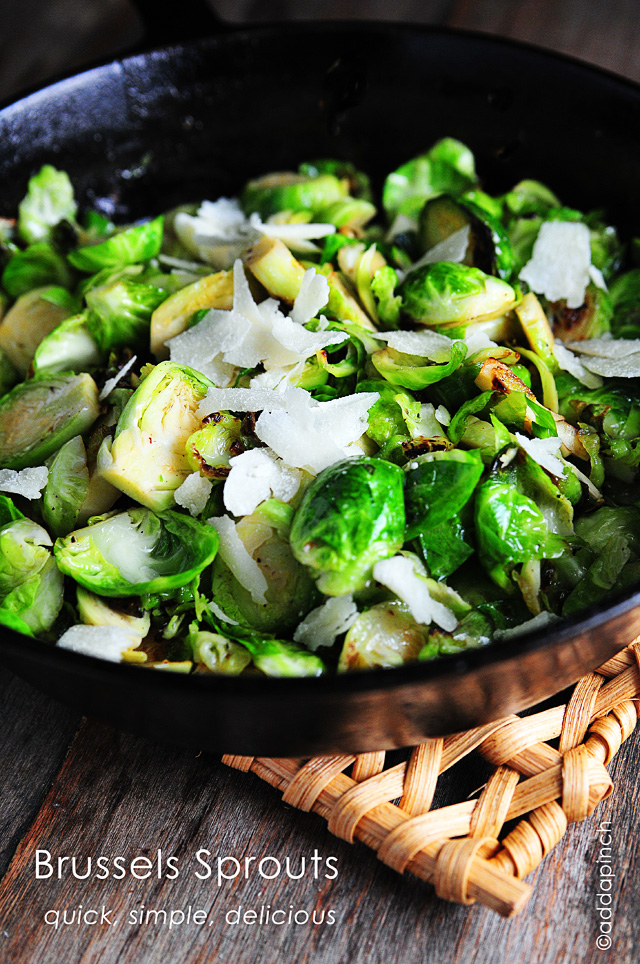 Brussels Sprouts from addapinch.com