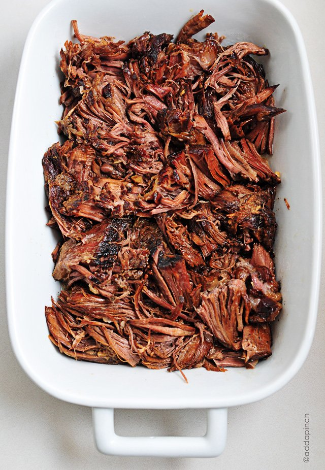 Balsamic Roast Beef | addapinch.com