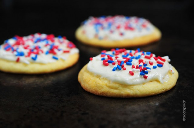 Frosted cake cookies recipe