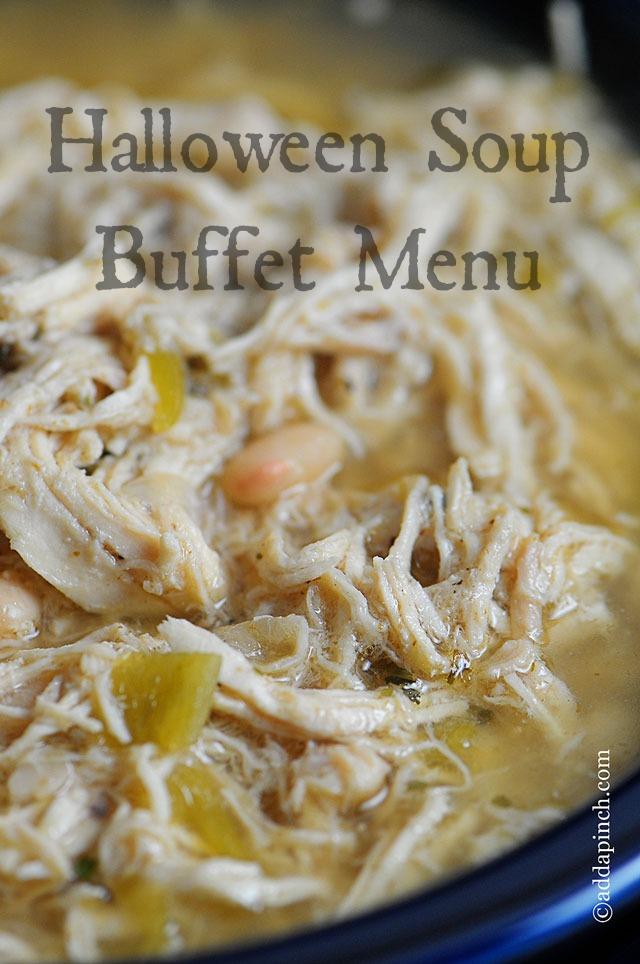 Halloween Soup Buffet | ©addapinch.com