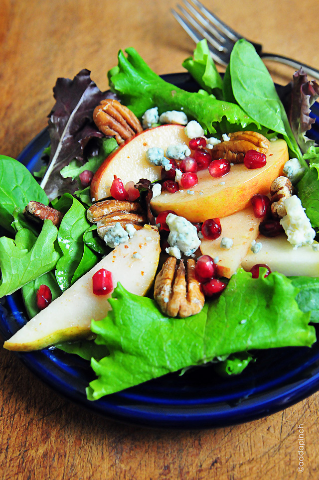 Apple Pear Salad | ©addapinch.com