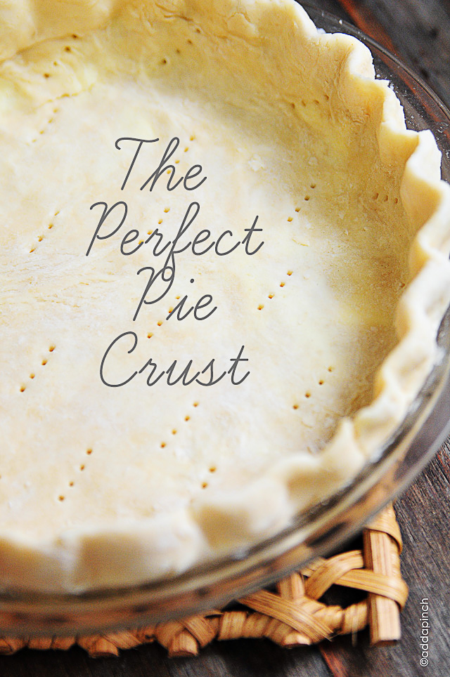 Perfect Pie Crust Recipe | ©addapinch.com