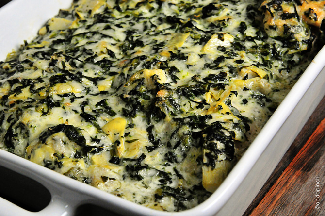 Spinach Artichoke Chicken Recipe - Cooking | Add a Pinch | Robyn Stone
