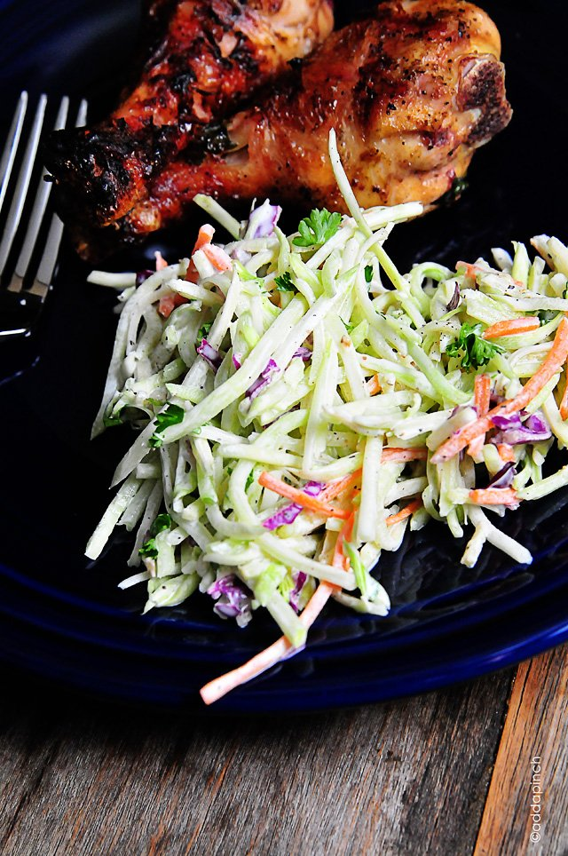 Broccoli Slaw | addapinch.com