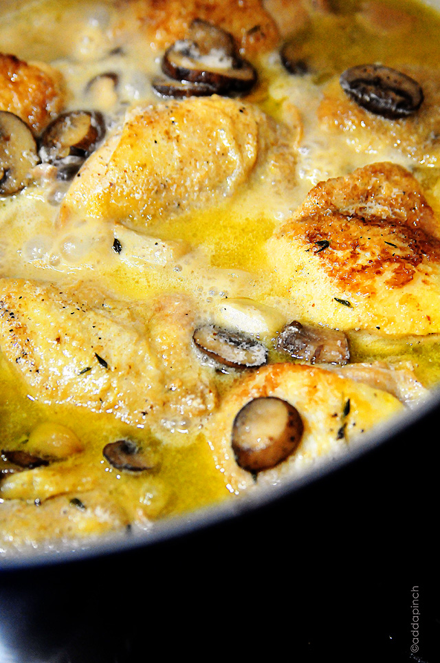 baked lemon chicken with mushroom sauce mushroom baked lemon chicken ...