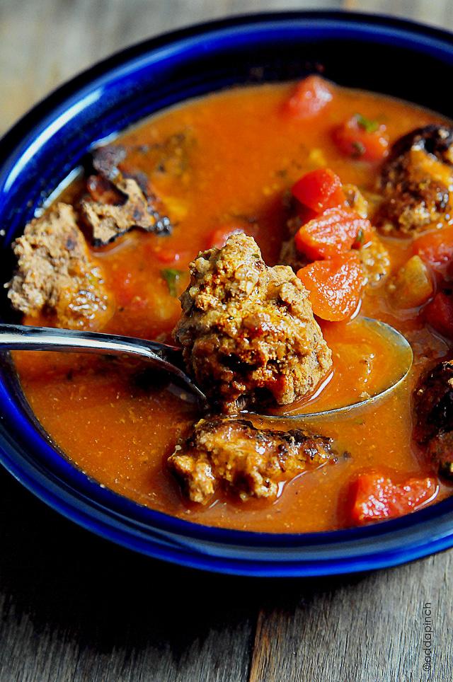 Meatball Soup | addapinch.com