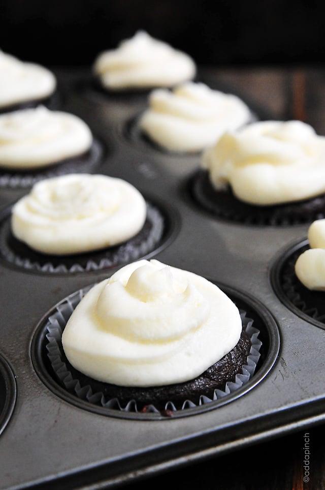 Best Chocolate Cupcakes | addapinch.com