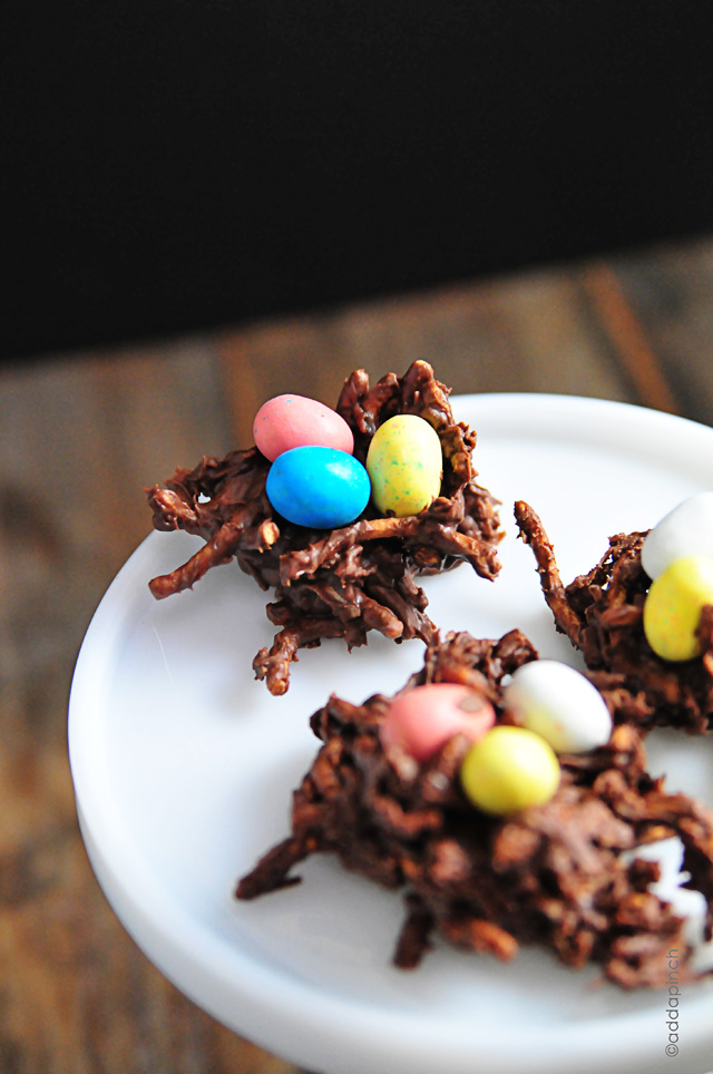 Chocolate Coconut Nests Recipe - Add a Pinch
