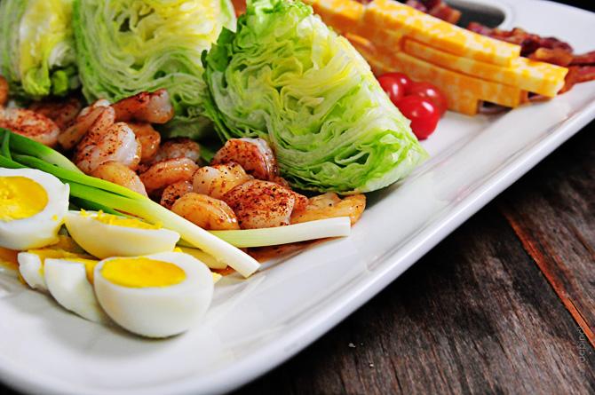 Blackened Shrimp Salad Dsc 2210