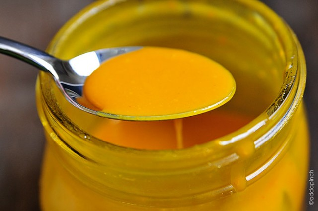 Honey Mustard Dressing Recipe | © addapinch.com