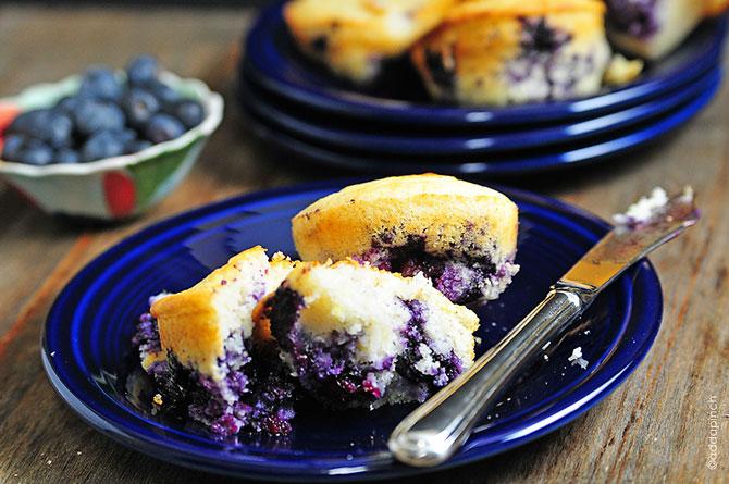 Here's my Lemon Blueberry Cornbread Muffins recipe. I sure hope you ...