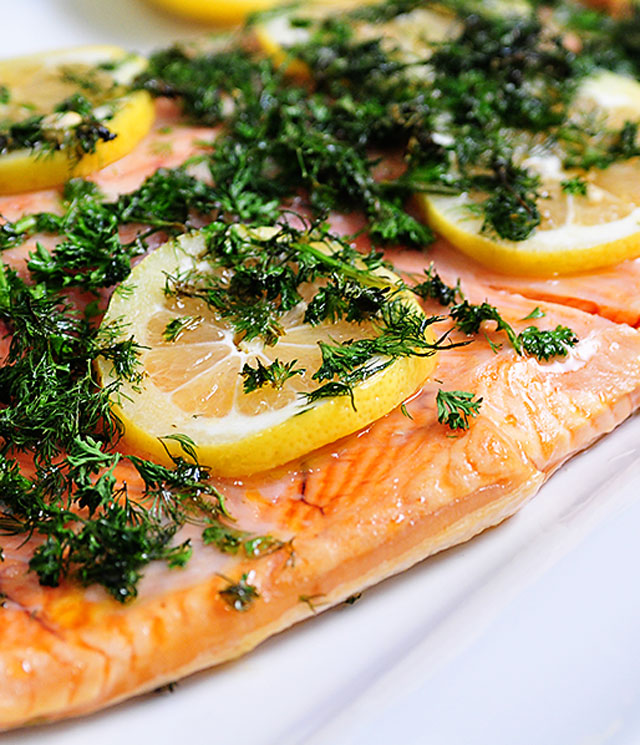 Lemon Dill Salmon | ©addapinch.com