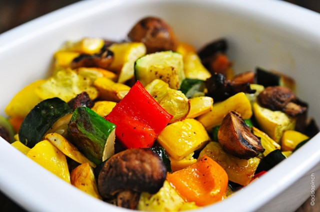 Roasted Vegetables | addapinch.com