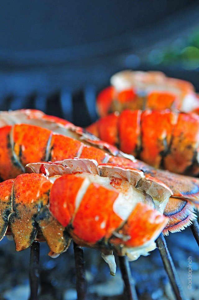 Smoked Lobster Tail Recipe | ©addapinch.com
