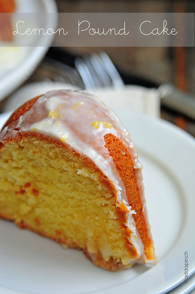 Easy Sour Cream Lemon Pound Cake Recipe