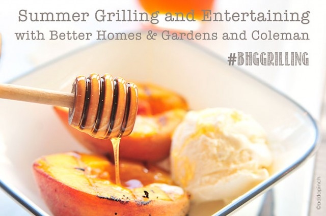 Summer Grilling And Entertaining Twitter Party With Better Homes And Gardens And Coleman Add