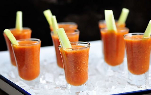Gazpacho Recipe | ©addapinch.com