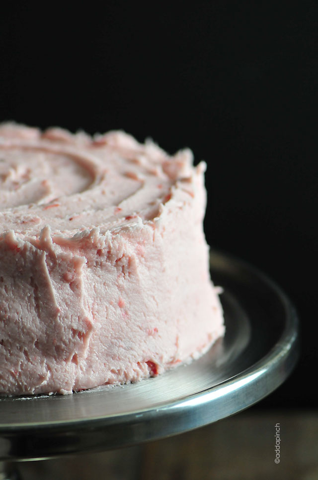 Strawberry Buttercream Frosting Recipe - Add a Pinch