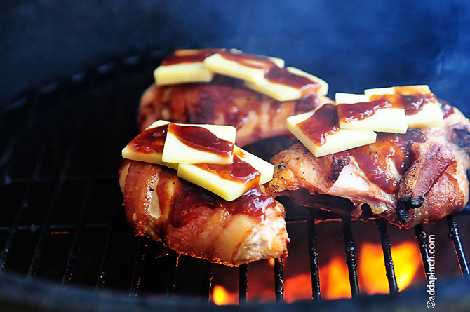 Bbq Chicken With Bacon And Cheddar Recipe