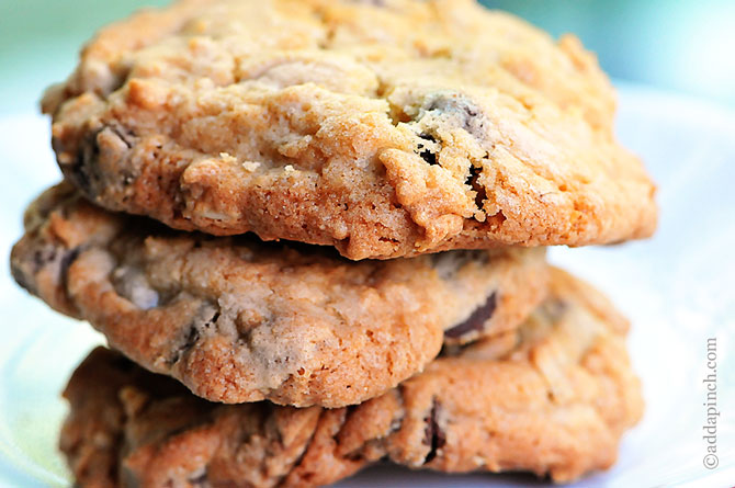 Recipes peanut butter and chocolate chip cookies